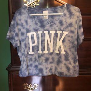 VS Pink short-sleeved shirt